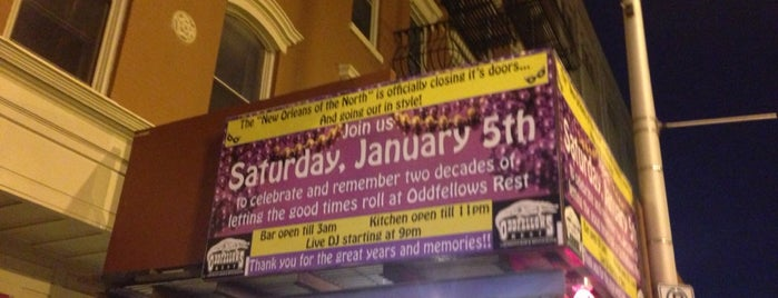Oddfellows Restaurant is one of Mardi Gras 2012 NYC.