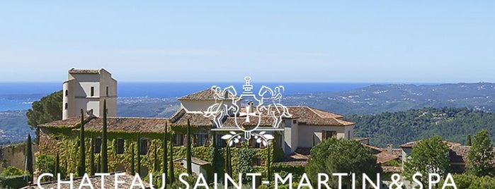 Château Saint-Martin is one of Vence, France.