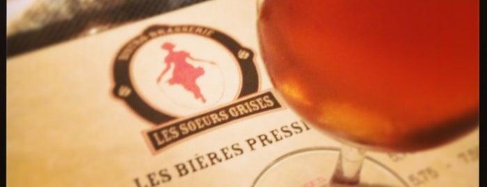 Bistro-Brasserie Les Soeurs Grises is one of Bieres de microbrasseries / Microbreweries beers.