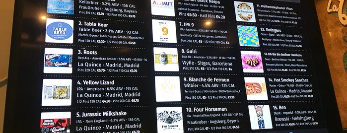 Brew Wild Pizza Bar is one of Spain.