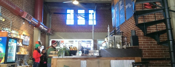City Market Coffee Roasters is one of Caffeinated KC: the best cups of coffee in town.