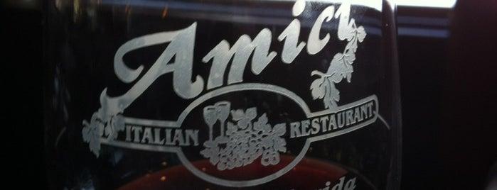 Amici Italian Restaurant is one of Lieux sauvegardés par Chris.
