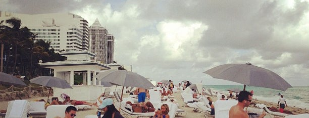 The Fontainebleau Beach is one of Miami.