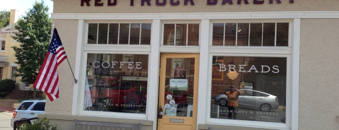 Red Truck Bakery is one of 30 Places to Eat in Virginia Before You Die.