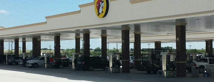 Buc-ee's is one of George's Liked Places.