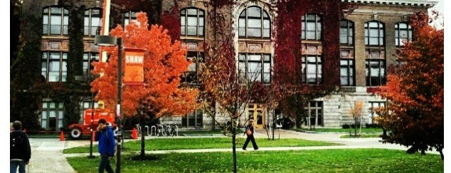 Bowne Hall is one of Campus Tour.