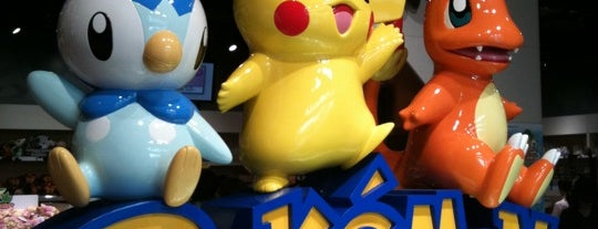 Pokémon Center TOKYO is one of Prim Patsatorn: сохраненные места.