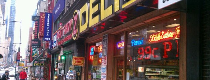 Z Deli & Pizza is one of Super Bowl 2014 fan guide: Best pizza in NYC.