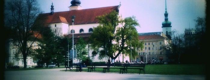 Moravské náměstí is one of The Best of Brno #4sqCities.