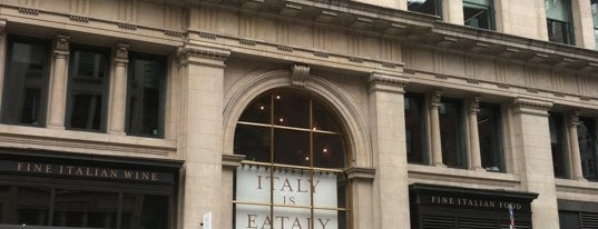 Eataly Flatiron is one of nyc eats.