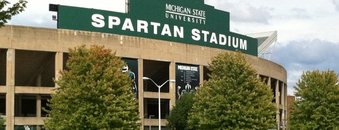 Spartan Stadium is one of Amarica Football.