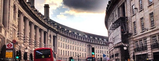 Regent Street is one of Must Visit London.