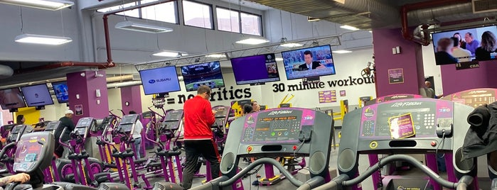 Planet Fitness is one of สถานที่ที่ @RealOctave ถูกใจ.