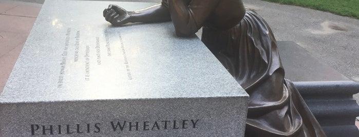 Boston Women's Memorial is one of Lieux qui ont plu à Louisa.