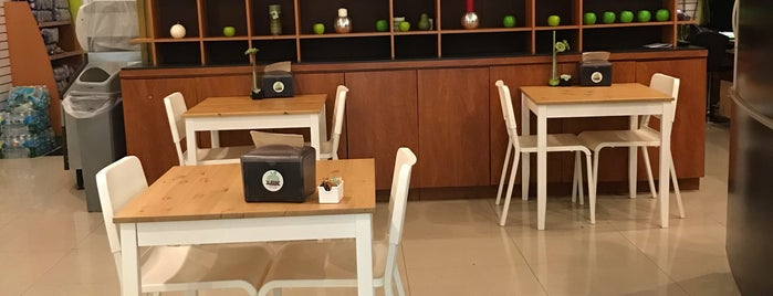 Green Apple Juice Lounge is one of Restaurants I've Been To.