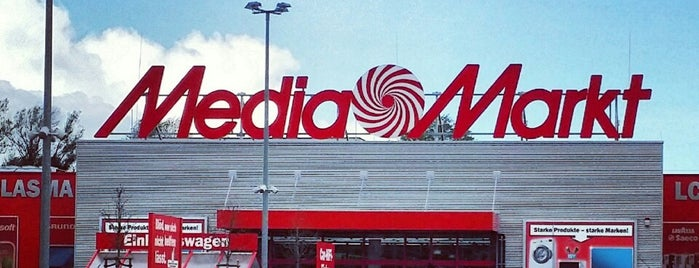 MediaMarkt is one of Berlin Spandau.