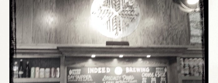 Indeed Brewing Company is one of Brewery Tours.