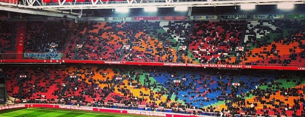Johan Cruijf Arena is one of My Amsterdam.