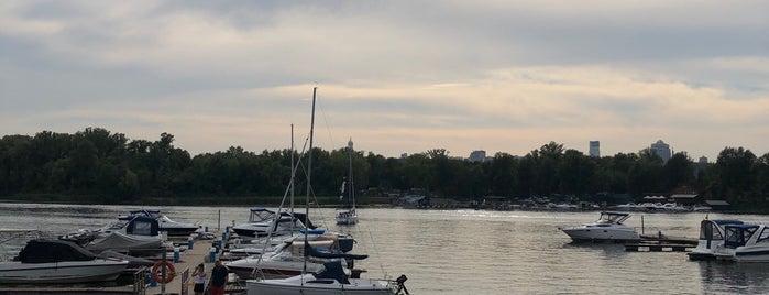 Yacht Club Riviera Riverside Restaurant is one of Juliia : понравившиеся места.