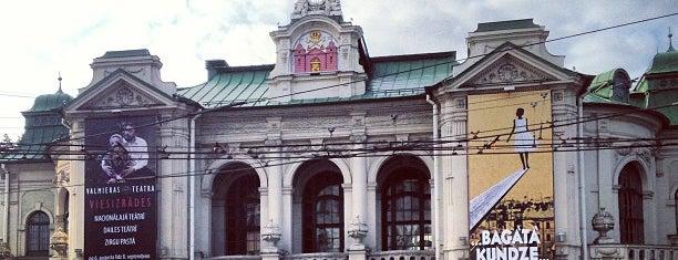 Latvijas Nacionālais teātris is one of Locais curtidos por Carl.