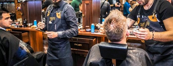 OldBoy Barbershop is one of Filip 님이 좋아한 장소.