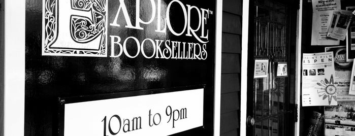 Explore Bookstore is one of Aspen To-Do!.