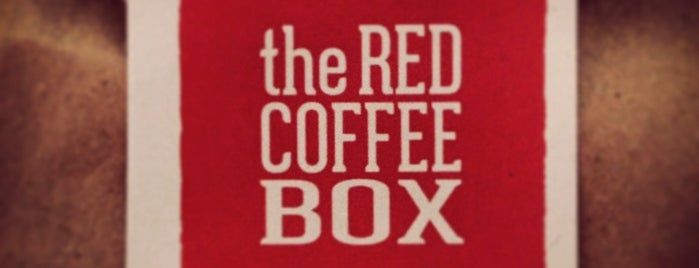 The Red Coffee Box is one of Cafeterías.