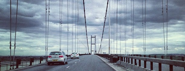 Humber Bridge is one of Carlさんのお気に入りスポット.