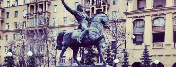 Памятник Багратиону is one of Locais curtidos por Julia.