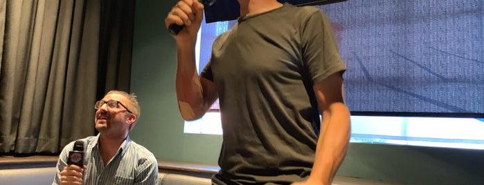 Voicebox Karaoke is one of Lieux qui ont plu à Katherine.