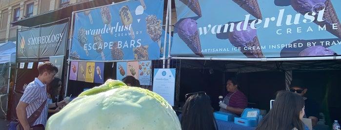 Wanderlust Creamery is one of LA eats.