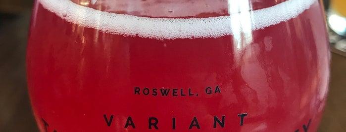 Variant Brewing is one of Georgia Breweries.