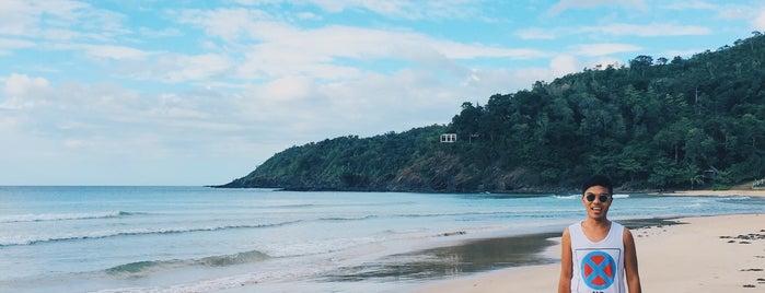Nagtabon Beach Cove is one of Filipinler-Manila ve Palawan Gezilecek Yerler.