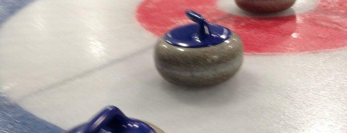 Московский кёрлинг-клуб / Moscow Curling Club is one of надо бы посетить =).