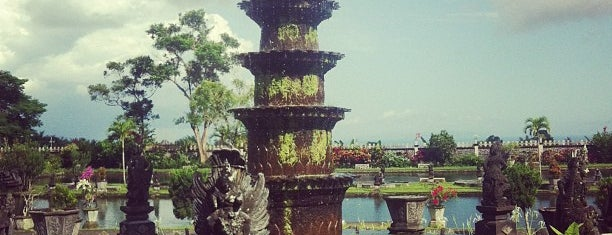 Tirta Gangga Water Palace is one of Indonesia.