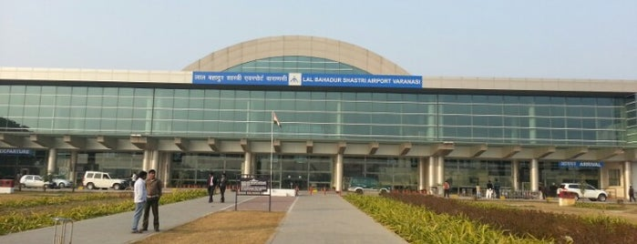 Lal Bahadur Shastri International Airport Varanasi (VNS) is one of Posti che sono piaciuti a Pelin.