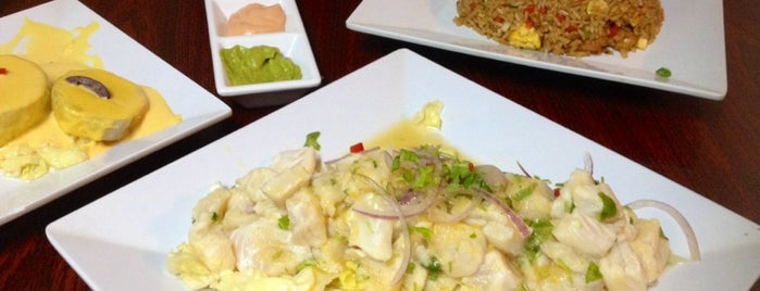 Wiracocha Ceviche 105 is one of Metro!.