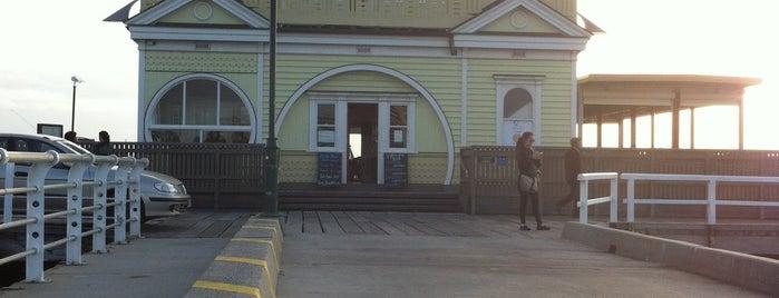 St Kilda Pier Kiosk is one of Posti che sono piaciuti a Daniele.