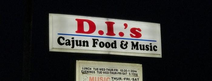 D.i.'s Cajun Food and Music is one of Tempat yang Disukai John.