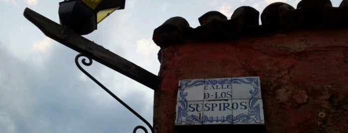 Calle de los Suspiros is one of Uruguay.