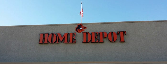 The Home Depot is one of Most Frequent.