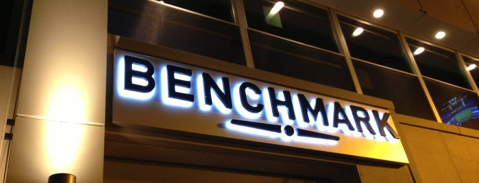 Benchmark is one of Chicago things to do.
