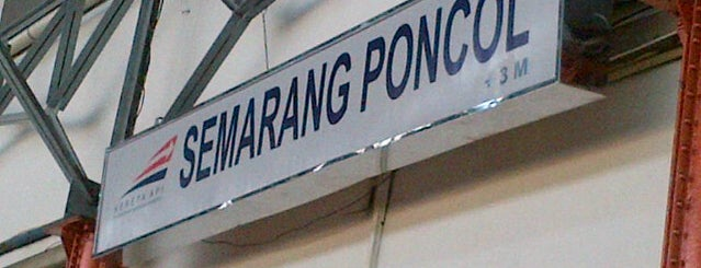 Stasiun Semarang Poncol is one of Lugares favoritos de MaRLiAnA.