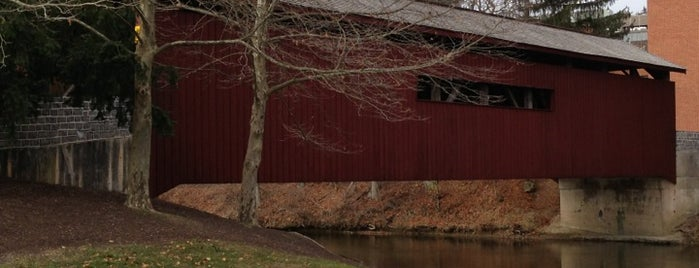 The Covered Bridge is one of Covered bridges.