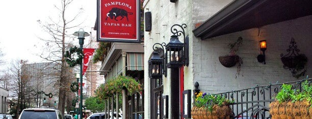 Pamplona Tapas Bar is one of Eat Lafayette.