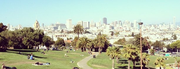 Mission Dolores Park is one of SF Visit.