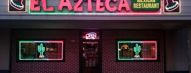 El Azteca is one of Good eats.