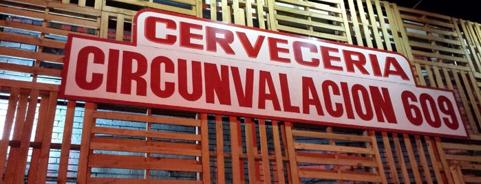Cervecería Circunvalación 609 is one of Lugares favoritos de Francisco.