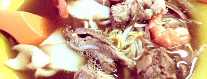 Chung Cheng Chilli Mee, Prawn Mee, Laksa is one of Project #2 singa.