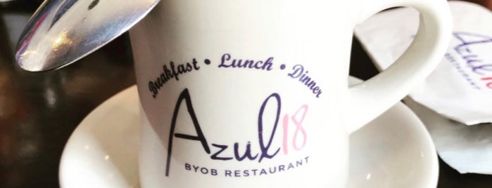 Azul 18 is one of Places to eat chicago.